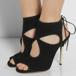 Aquazurra Sexy Thing metal sandals